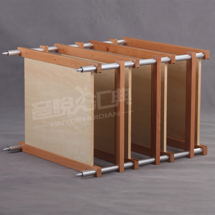 E&T 11-T04 Aluminum Speakers Rack Stands Shelf For Hifi Audio Equipment