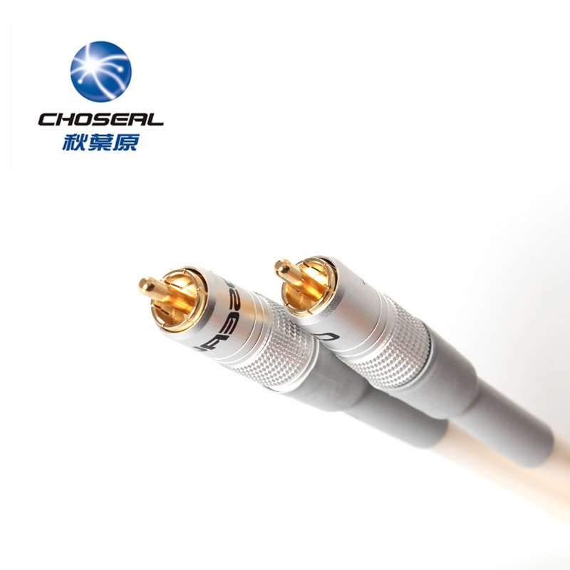 Choseal QB-581 HiFi Digital Coaxial Audio Cable Digital Speaker Cable