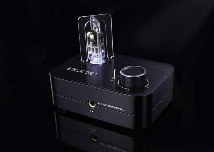 Aune T1 MK2 24BIT 6922 TUBE USB DAC Headphone Amplifier Audio Amplifier