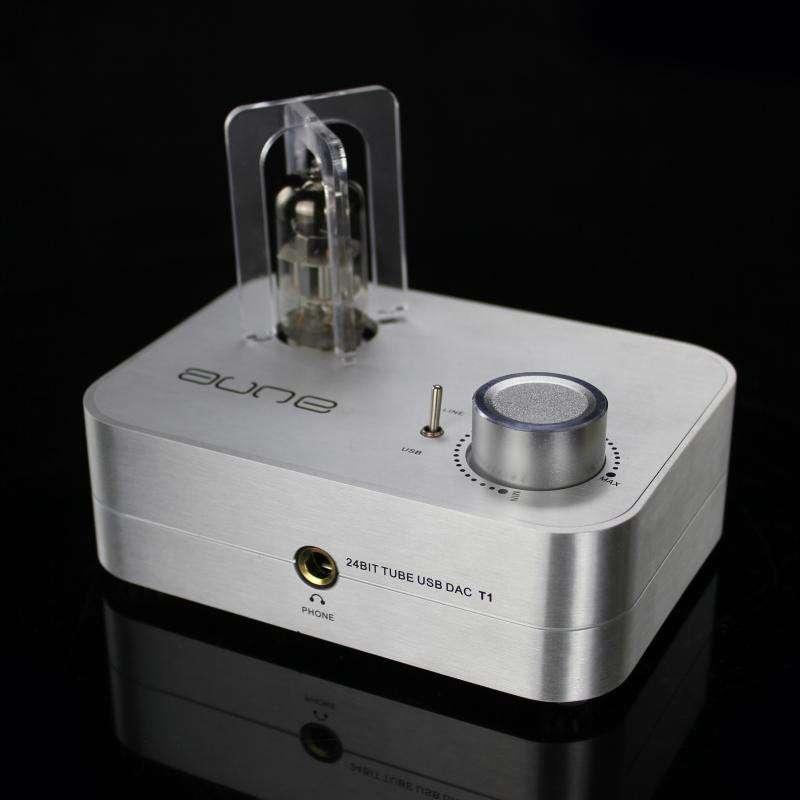 Aune T1 24bit 96khz Tube Usb Dac Headphone Amplifi