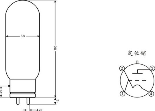 PSVANE 805A hifi Audio Vacuum Tube a pair Amplifier tube