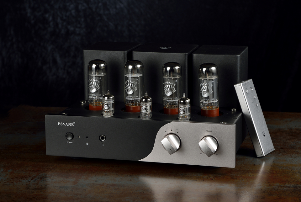 PSVANE TC1 HIFI EL34 Vacuum tube push-pull amplifier With Headphone Amp