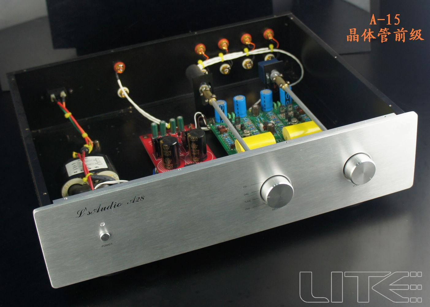 Lite Audio A15 Mark Levinson 20.5 transistor LM394 Preamplifier