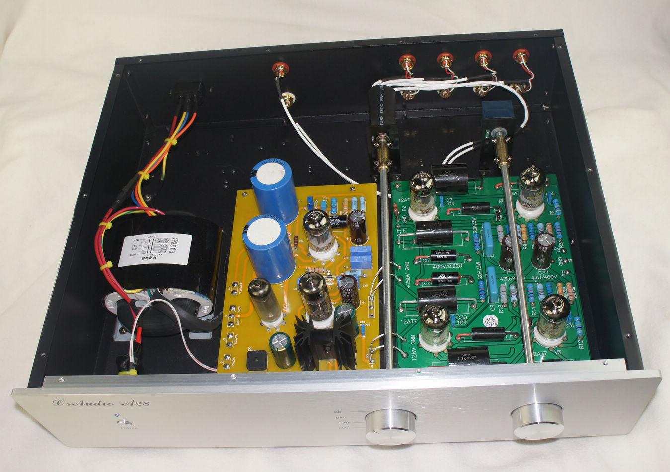 Lite audio LS8 Tube preamp Japen Shigeru Wada Circuit & Remote