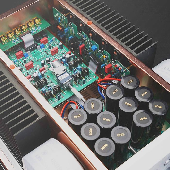 Dussun V8i Ultra-pure Class A 500W integrated Amplifier version 2015