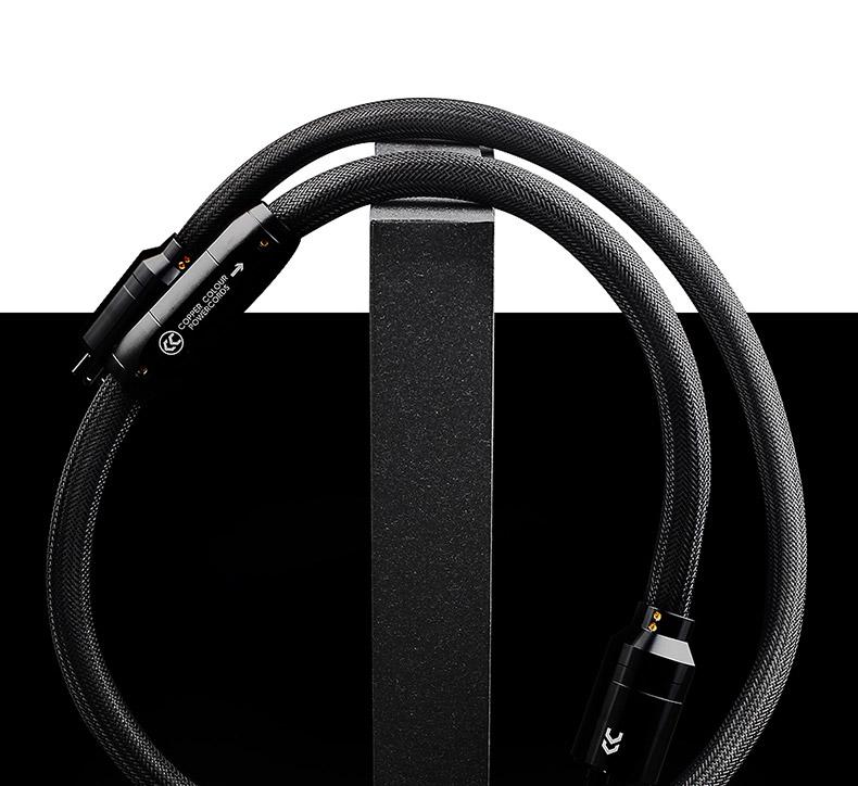 Copper Colour CC Pantheon Hifi Power Cable AU/US/EURO Schuko Plug OFC 9 mm2