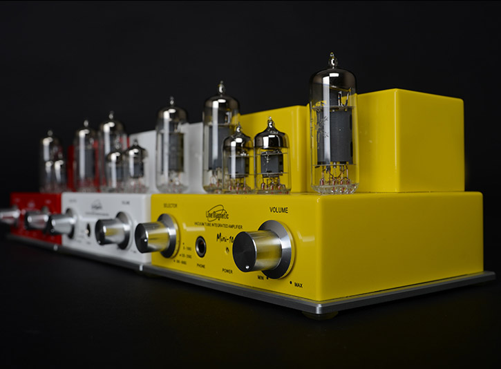 Line Magnetic Mini LM-10IA tube Headphone Amp Hi-Fi Audio Stereo Amplifier