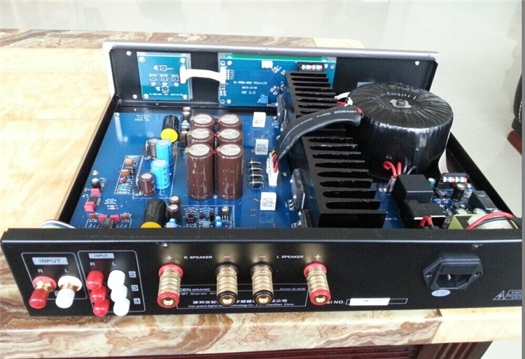 CEN.GRAND 9i-606 consolidation Stereo Power Amplifier Fever Digital Pure Music