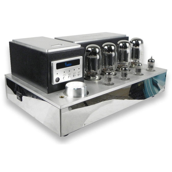 YAQIN MS-77T Hifi 7027B x4 tube Push Pull Power Amplifier With remote control