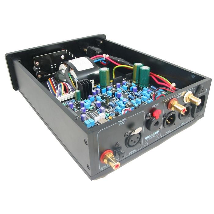 LiTe DAC-AM Audio DAC Decoder Hiend XLR Alloy Case