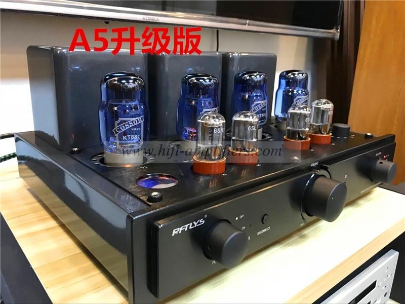 RFTLYS A5 KT88*4 Intergrated Valve Amplifier with Bluetooth 2 Mode Listen