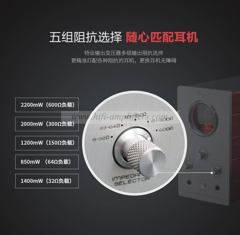 Cayin HA-1A MK2 Vacuum tube Headphone Amplifier Audiophile EL84 Valve stereo Amp