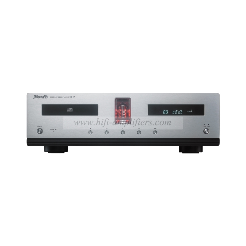 Shengya CD-17 12AX7 Vacuum Tube Hifi CD Player Read HDCD