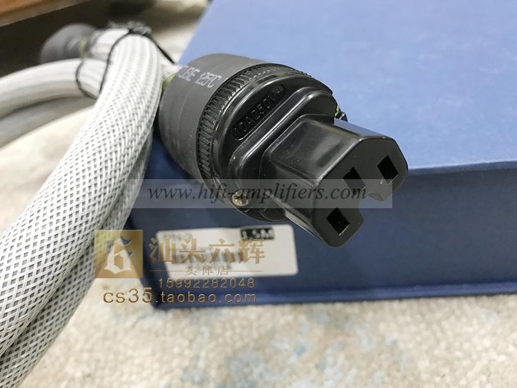 SoundRight PN-3 Audiophile Power Cord EUR/US Plug 1.5m