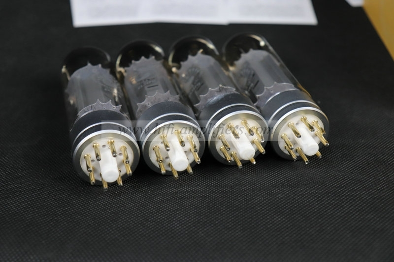 PSVANE Quad(4) vacuum tube EL34-PH matched Philips Replica 6CA7