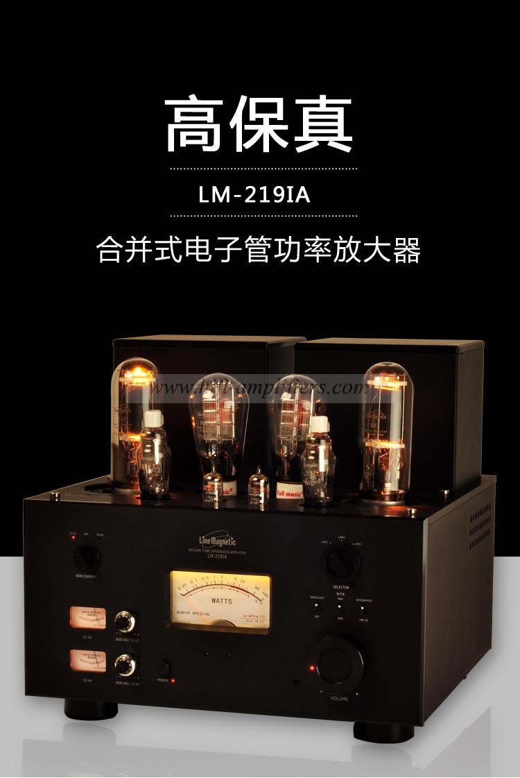 Line Magnetic Lm 219ia 310a 300b 845 Integrated Am Meixing Mingdabewitchbada Amplifiers Cd Playerpower Amp Preamp Amplifier Class A Single Ended Power
