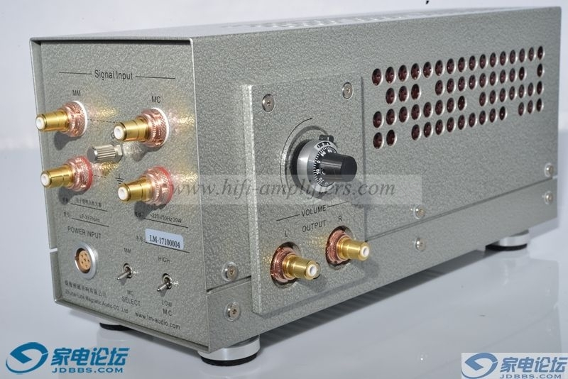 Line Magnetic LP-33 Phono Stage preamp MM/MC tube JJ ECC803s turntable Amp