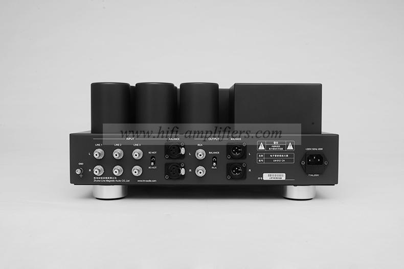 Line Magnetic LM-512CA Audio preamplifier vacuum tube Balance XLR Audiophile