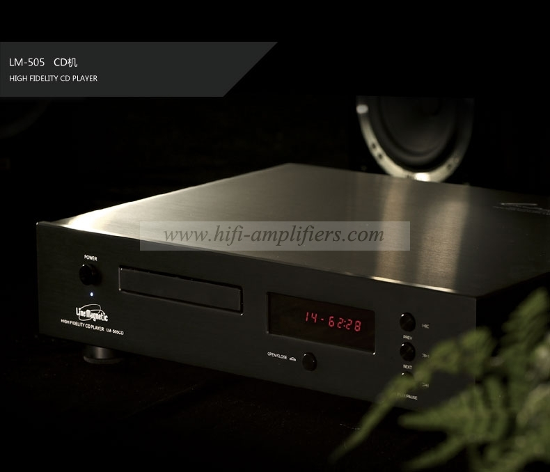 Line Magnetic LM-505CD Hi-Fi Audio tube CD Player With Remote Control
