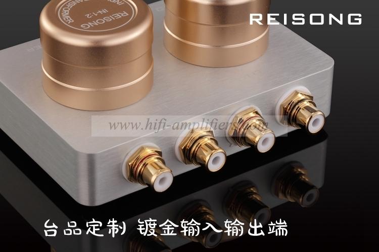 REISONG Boyuu 1:2/1:1/1:20 passive Audio input transformer to Phone/PC/MP3/CD/MM/MC