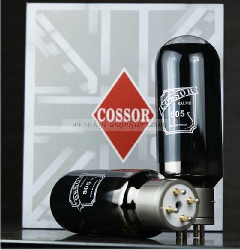 COSSOR VALAVE 805 made by PSVANE Hi-end Vacuum tubes best matched Pair