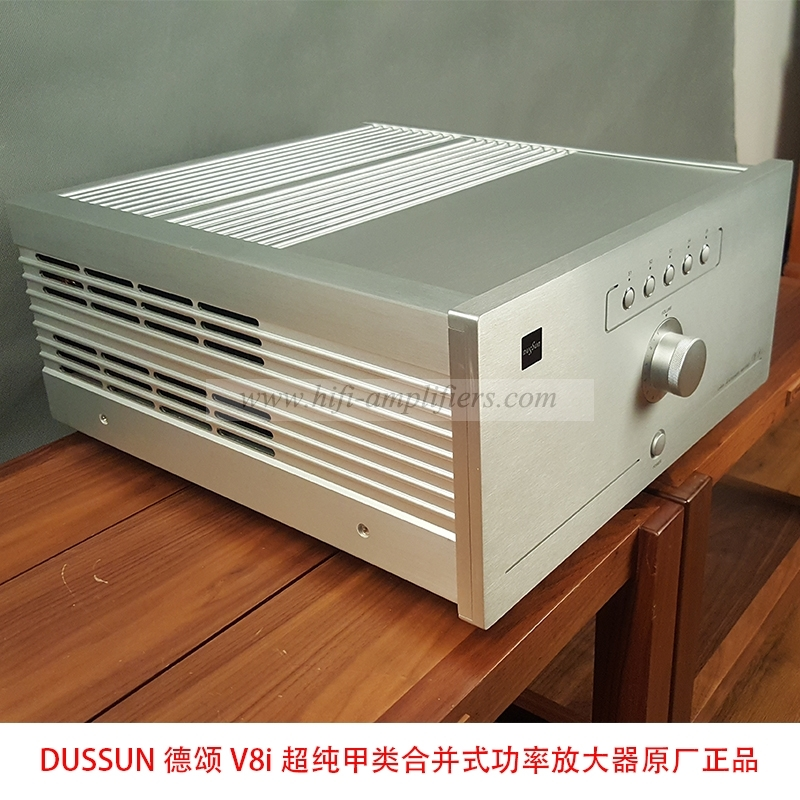 Dussun V8i Hi-end Ultra-pure Class A 250W*2 integrated Amplifier version 2015