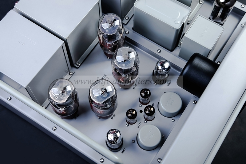 Line Magnetic Analog Sound LM-126 Vacuum Tube KT66*4 Integrated/Power Amp 10th Anniversary