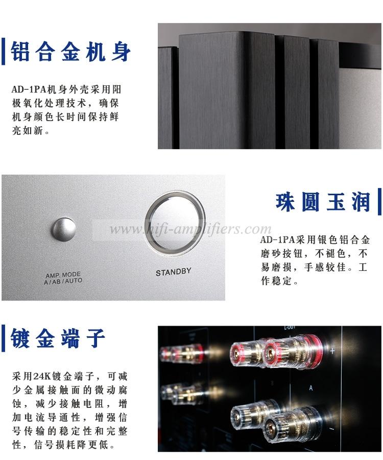 TownWinner TY-1CD/AD1PRE/AD1PA HIFI CD Player & Preamp DAC & Class A Power Amp set