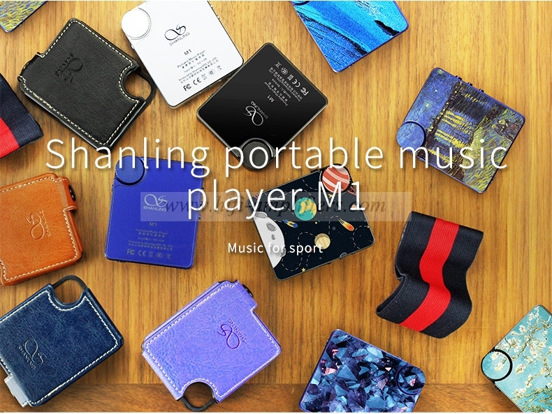 Shanling M1 Bluetooth APTX Mini DAP DSD Lossless MP3 FLAC APE Hifi Portable