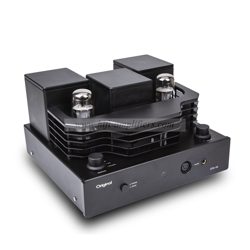 Original OPA-4A EL34 tube integrated Amplifier HiFi Headphone Amplifier Brand New