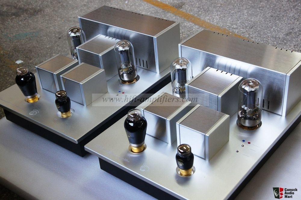 Psvane T845 300B Vacuum Tube Power Amplifier Hi-end Monoblock SET Amp Pair
