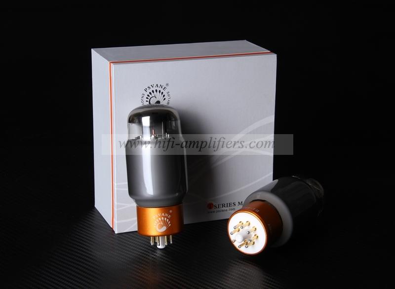 PSVANE KT88-TII Collections Matched Quad(4pcs) Vacuum Tube Gray valve