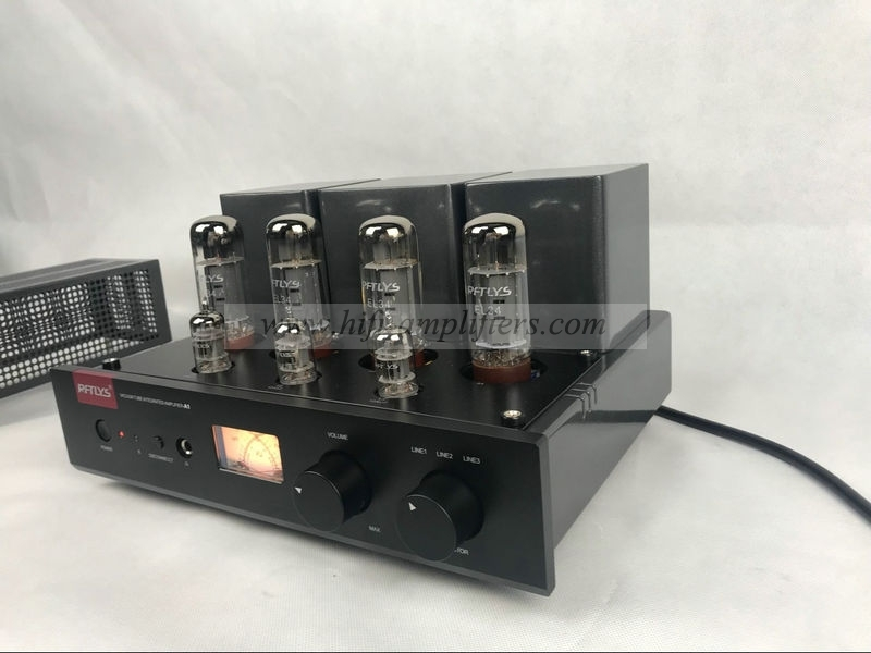 RFTLYS A1 EL34B vacuum tubes Integrated Amplifier Upgrade With Bluetooth
