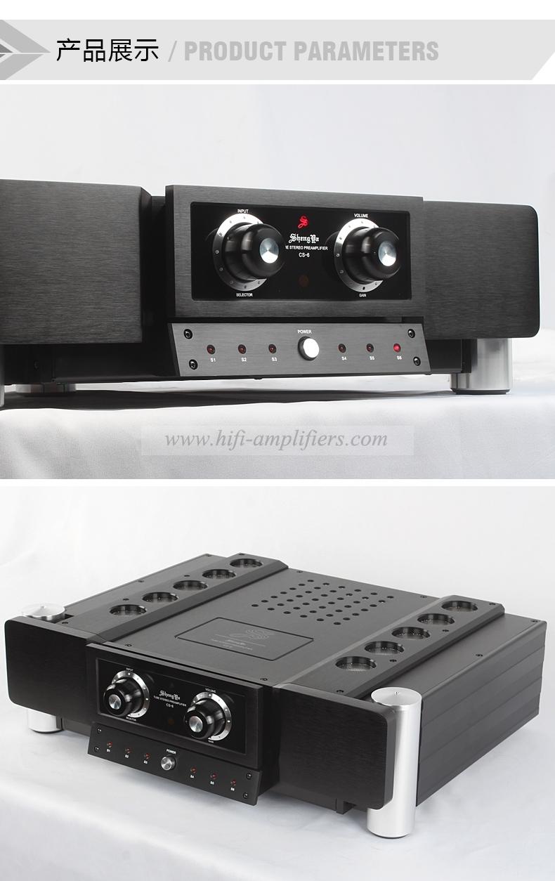 Shengya CS-6 Hybrid tube TSTR Preamp full balanced pre-amplifier