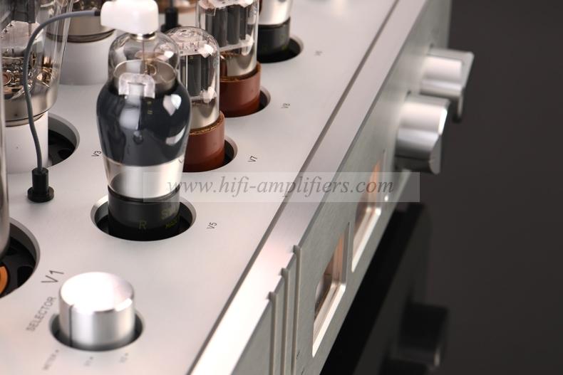 MUZISHARE X20 300B 845 Class A Sinle-ended Tube Amplifier & Power Amp Balance