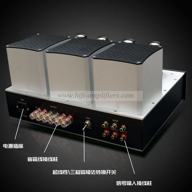 Shuguang KT88/EL34x4 push-pull Amplifier Class A & B tube Amplifier