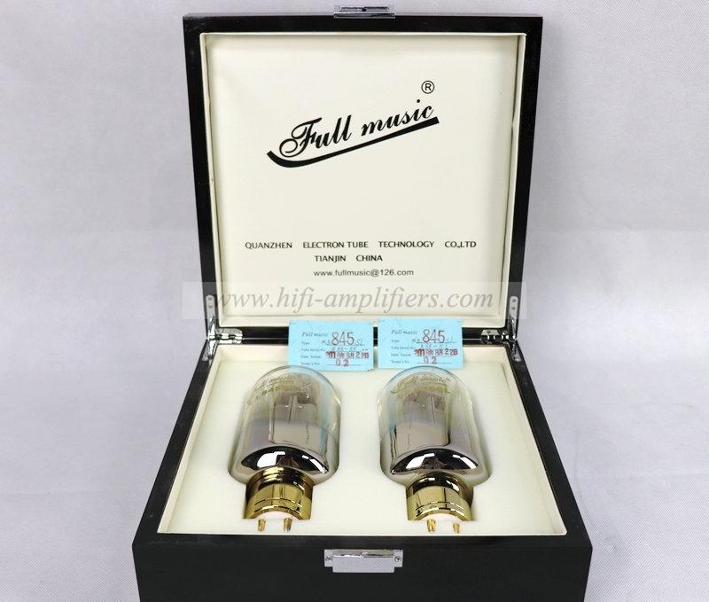 Fullmusic Premium 845SL Vacuum Tube Valve Matched Pair