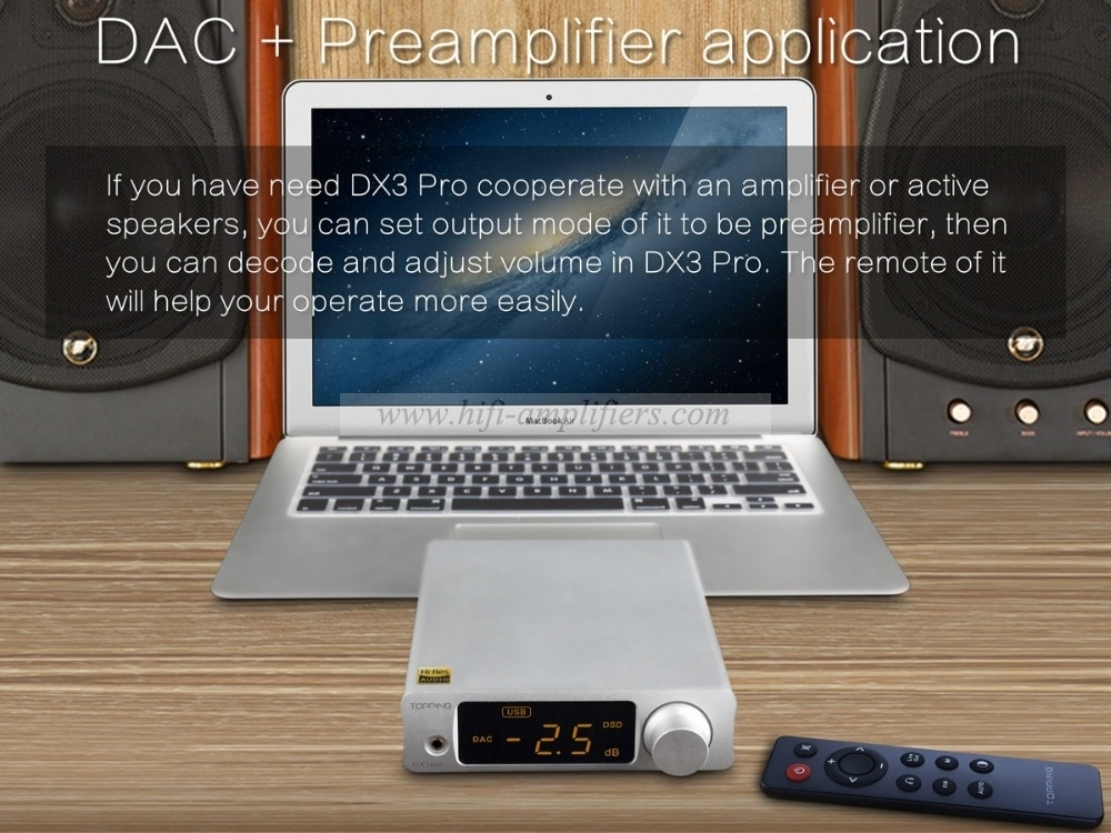 TOPPING DX3 Pro Home HIFI DAC Bluetooth 5 0 Amplif