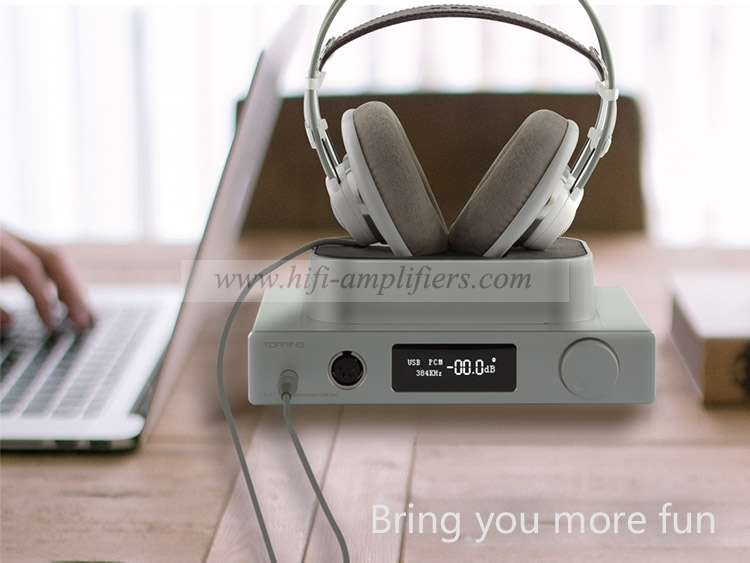 Topping DX7s full balanced decoding Headphone Amplifier DAC USB ES9038 DSD512 32Bit/768KHz