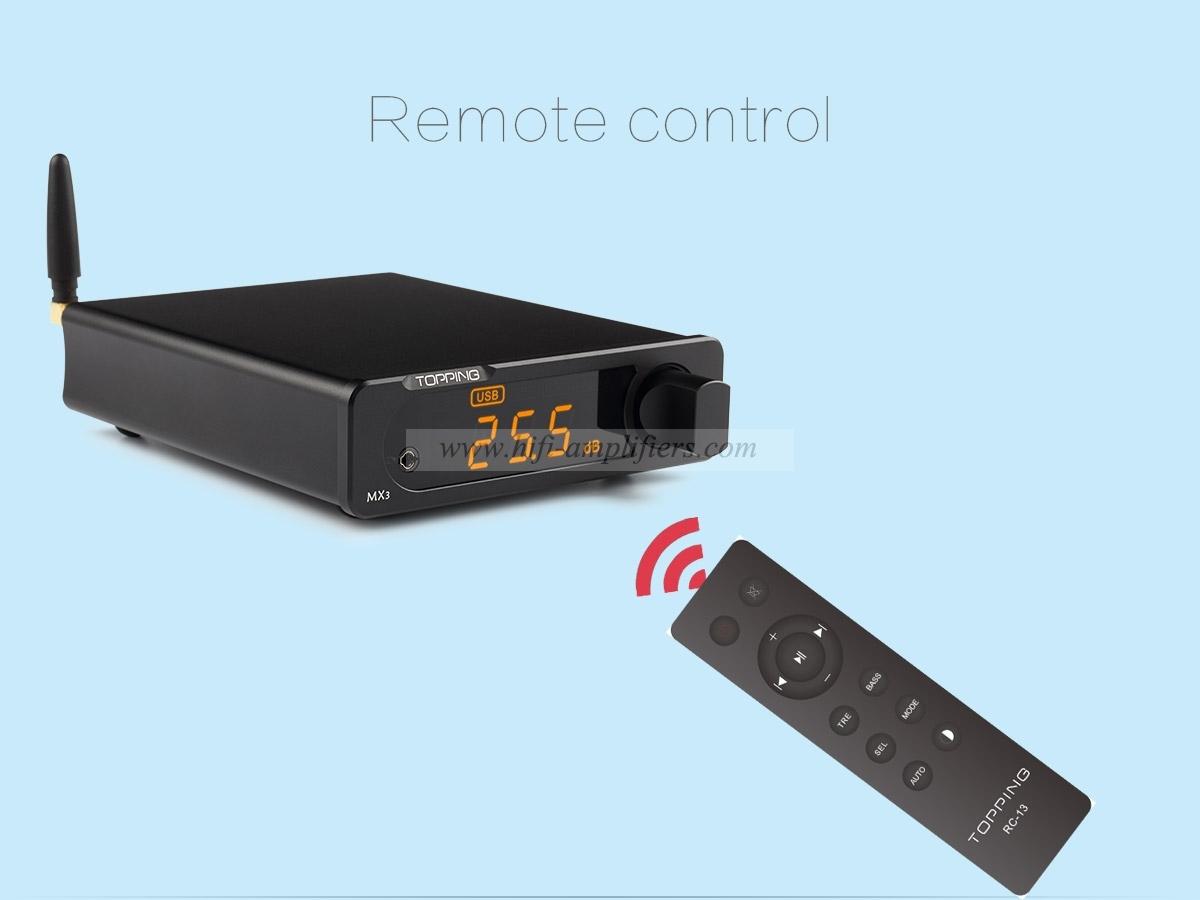 TOPPING MX3 USB DAC Audio Amplifier Hifi Bluetooth