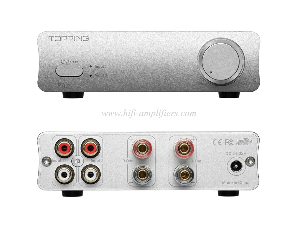 TOPPING PA3 TDA7498E Desktop HiFi audio Digital Amplifier amplificador 80W * 2