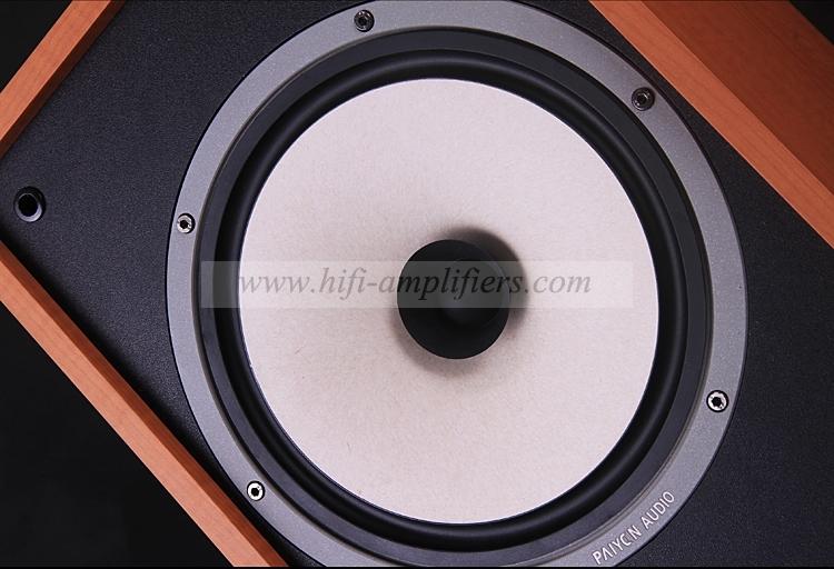 PAIYON P-F8 Passive Bookshelf Speaker 8 inch HiFi Audio Loudspeaker