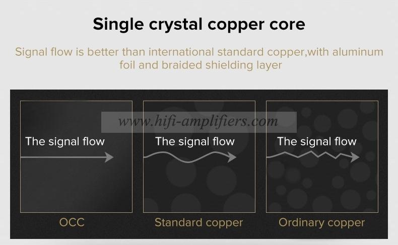 Choseal QS994 Super XLR Cable HIFI OCC Copper Audio Cable For Speaker Mixer Pair