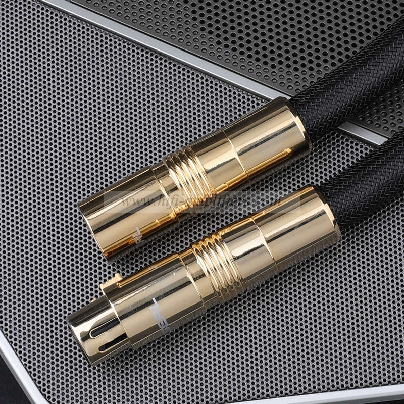 Choseal QS994 Super XLR Cable HIFI OCC Copper Audio Cable For Speaker Mixer Pair