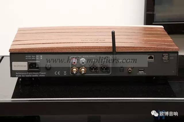 Opera Consonance Reference 8 Pro Music Streamer DLNA WiFi Bluetooth 32Bit/384kHz Decode