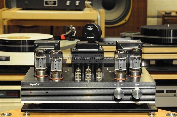 Raphaelite EP65 audiophile vacuum tube amplifier 6550 HiFi audio amp with remote