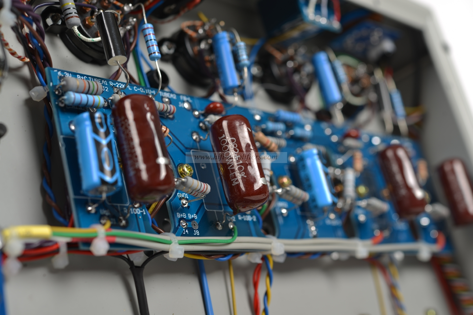 Raphaelite CP6V stereo integrated amplifier Hifi audio tube amp push-pull 6V6