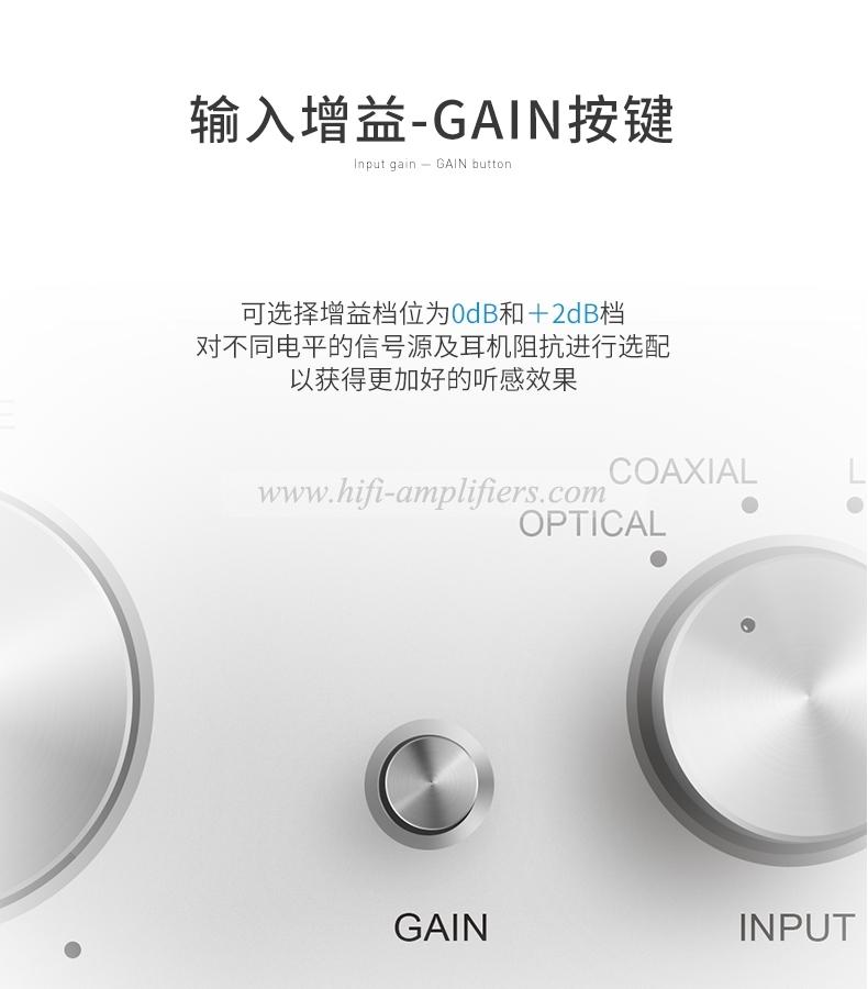 Shengya HAS-1 Desktop Decode Amp HiFI Headphone Amplifier XML Output