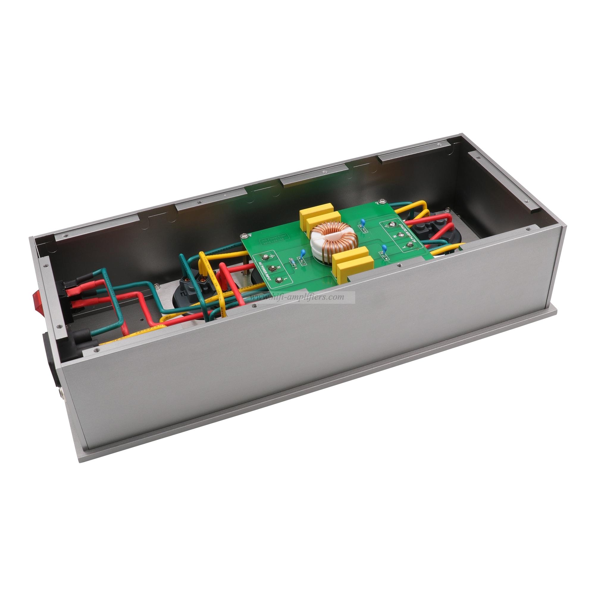 Viborg VE80 HiFi Power Filter Plant Schuko Socket 8Ways EU Outlets