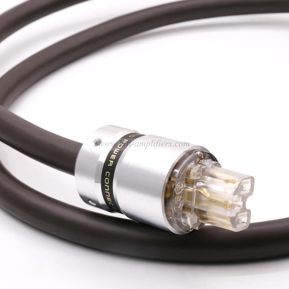 Viborg EU Schuko VP1606 OFC RISR 6MM Square AC Power Cords Cable